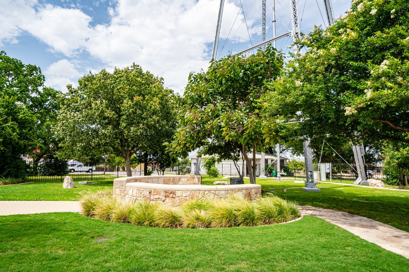 Koughan Memorial Water Tower Park in Round Rock Texas