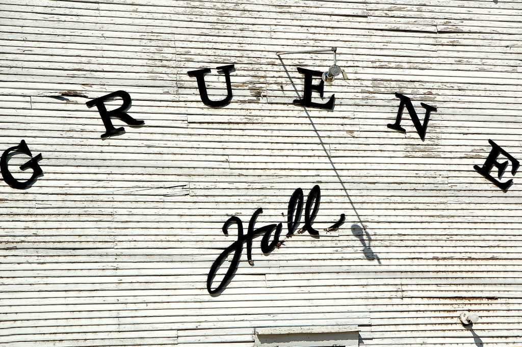 Exterior of Gruene Hall in New Braunfels, one of the best Austin day trips