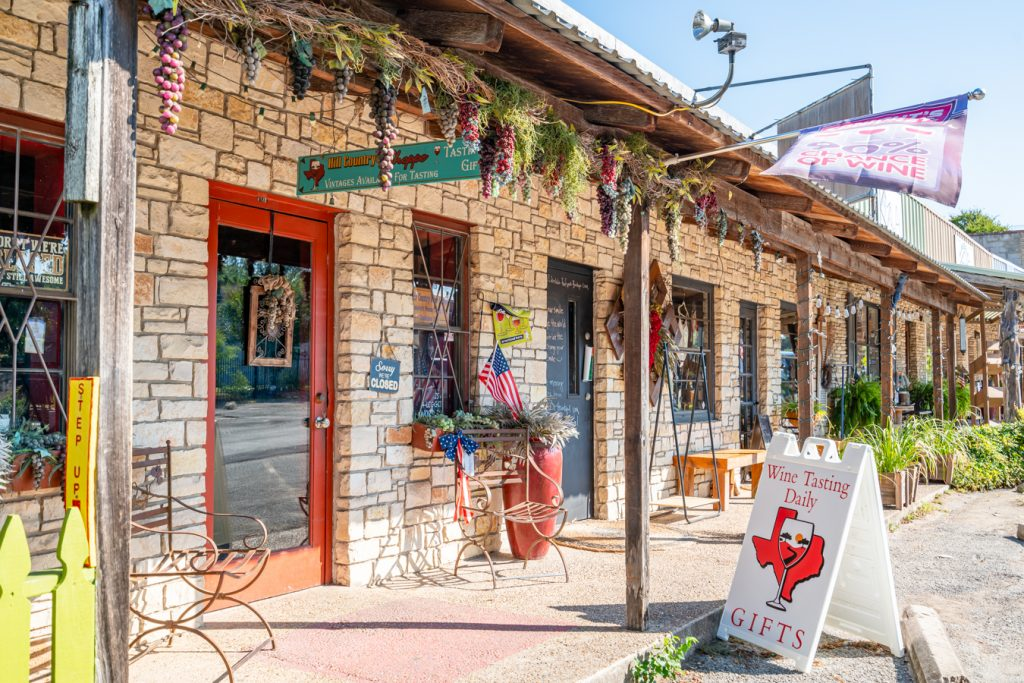 line of limestone boutiques, shopping belongs on any list of what to do in wimberley texas