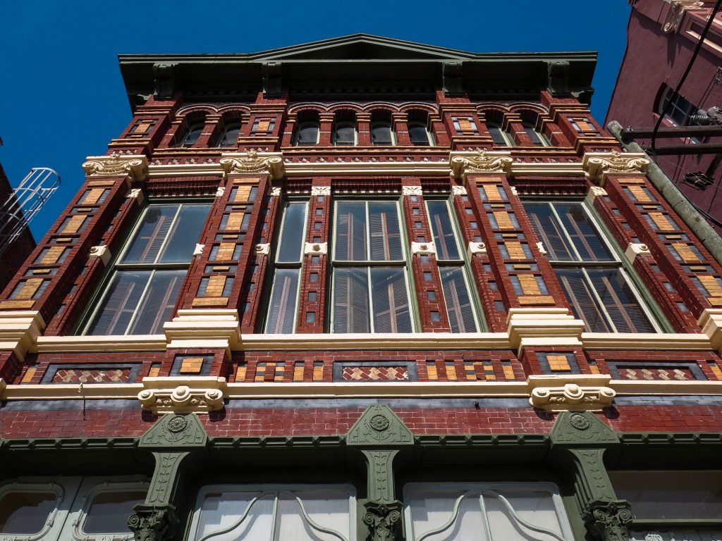 intricate building on the strand, one of the best attractions in galveston tx
