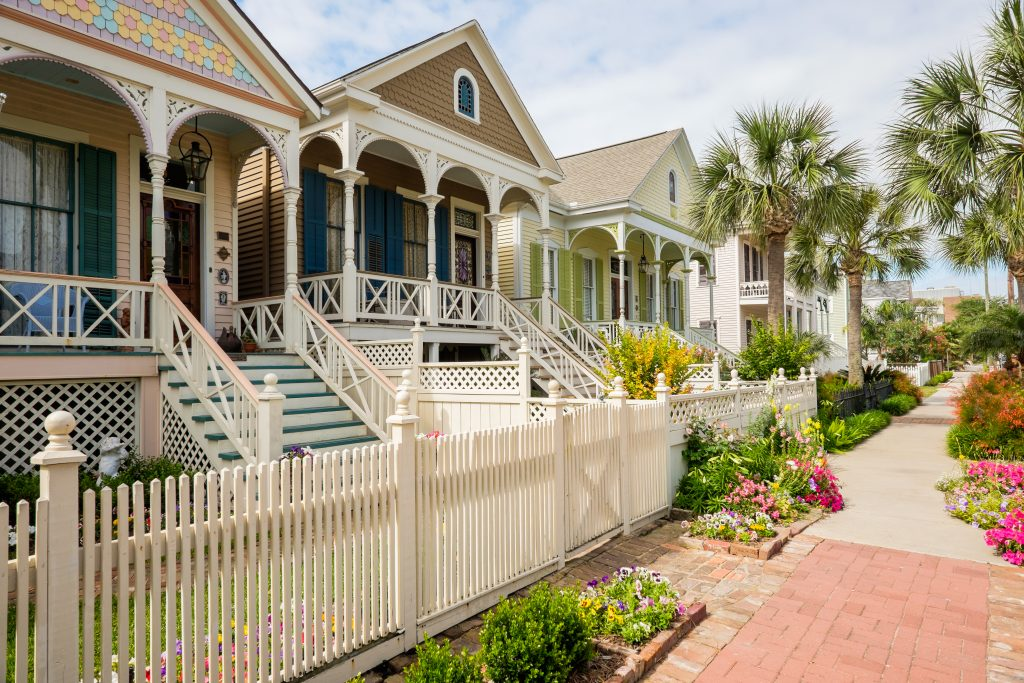 Victorian homes in Galveston things to do