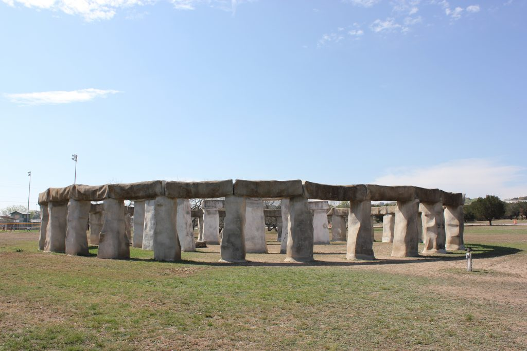 stonehenge II in ingram, one of the best places to visit europe in texas