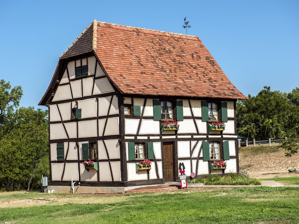 17th century Steinbach Haus in Castroville, one of the best Texas Europe destinations