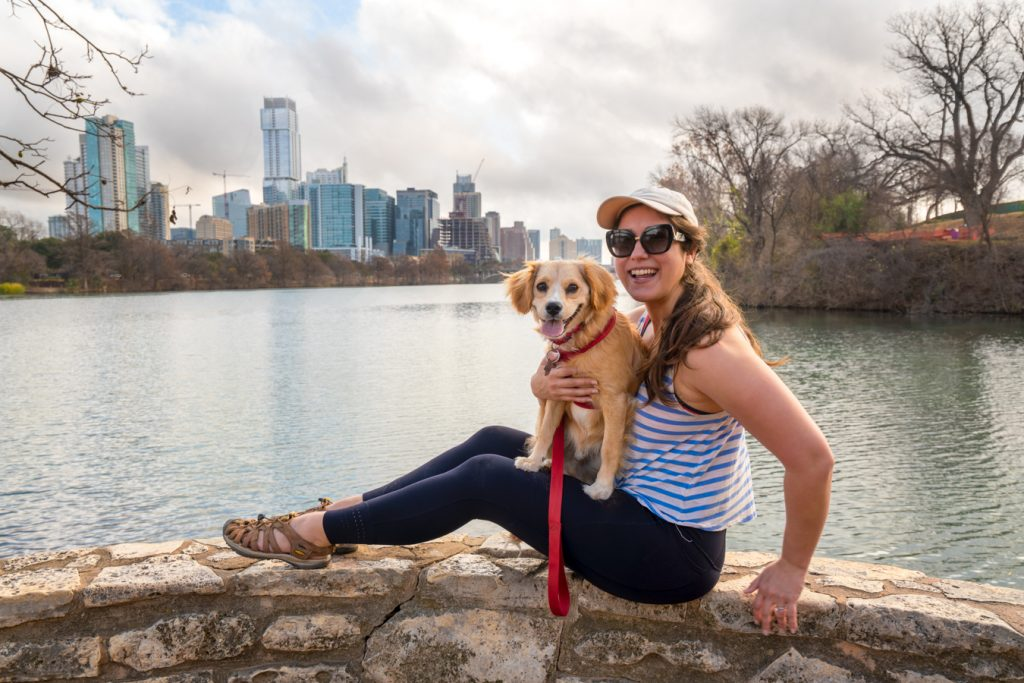 kate storm and ranger storm at lou neff point in austin texas