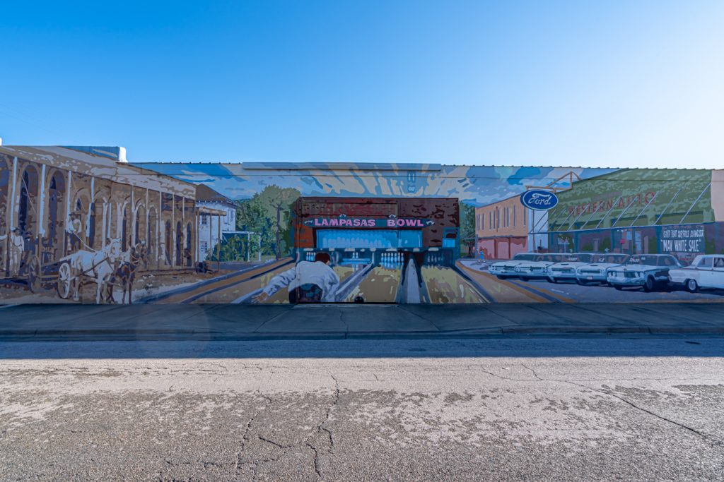 mural in lampasas texas things to do in