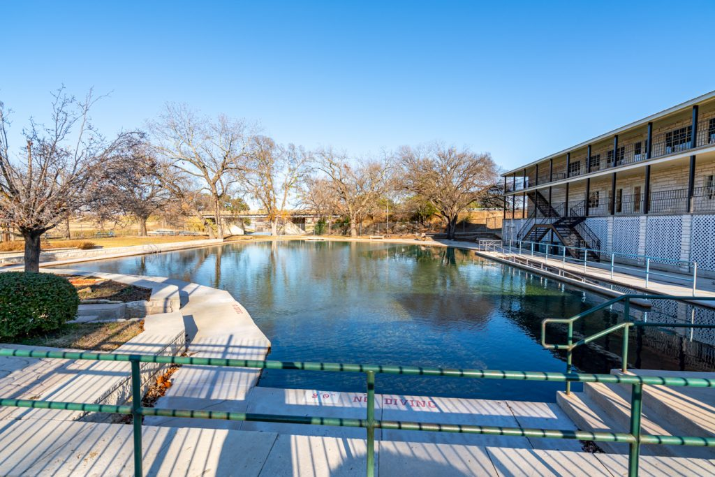 hancock springs pool, one of the best attractions in lampasas tx