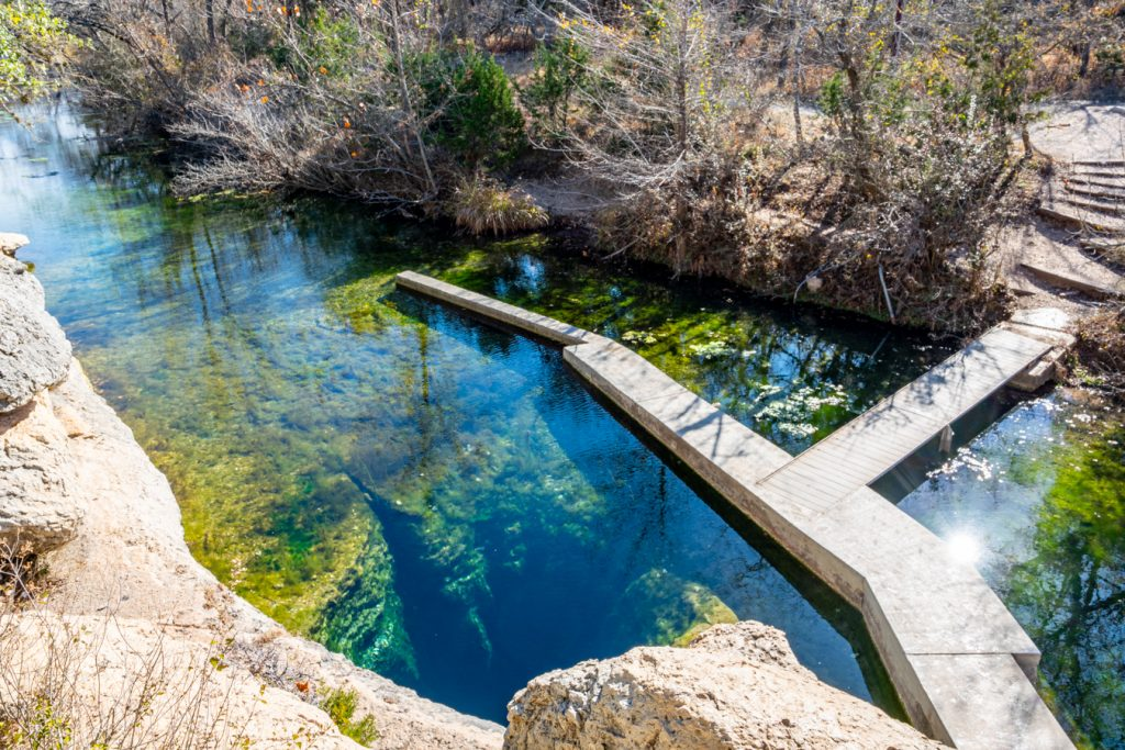 jacobs well tx as seen from boulder