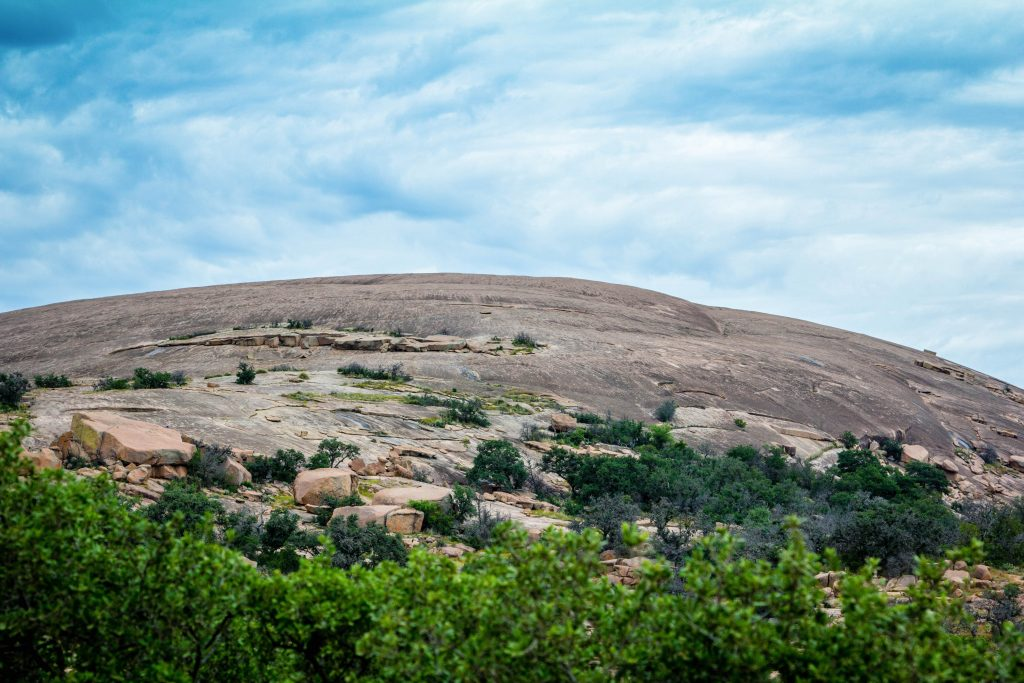 pink granite rock texas hill country