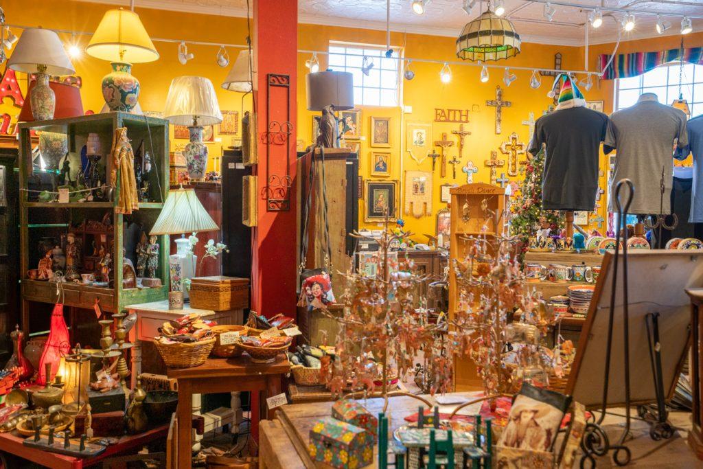 interior of mi casa boutique south congress austin texas