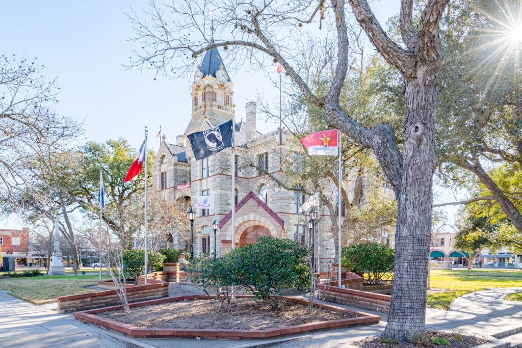 fayette county courthouse in courthouse square, one of the best things to do in la grange texas