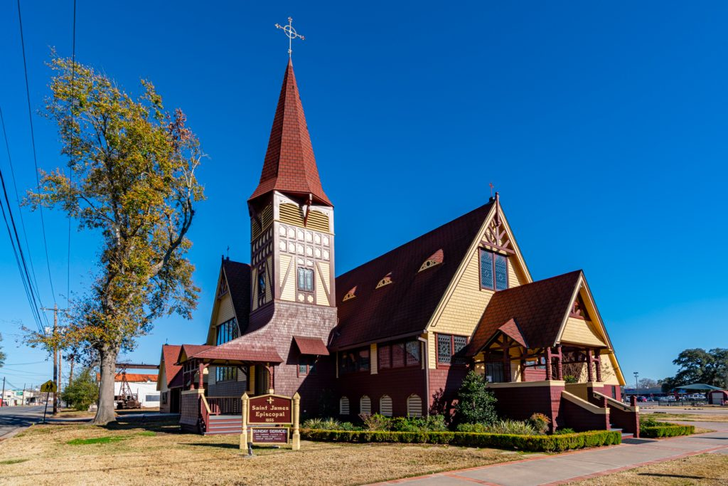 st james episcopal church, one of the attractions in la grange tx