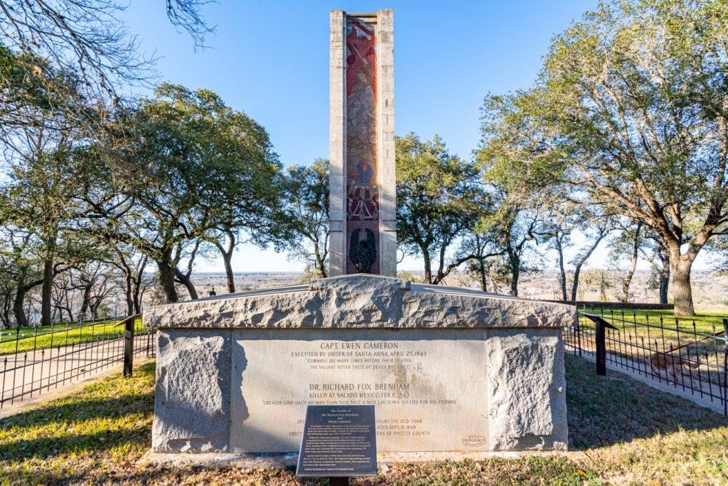 monument hill memorial in la grange tx