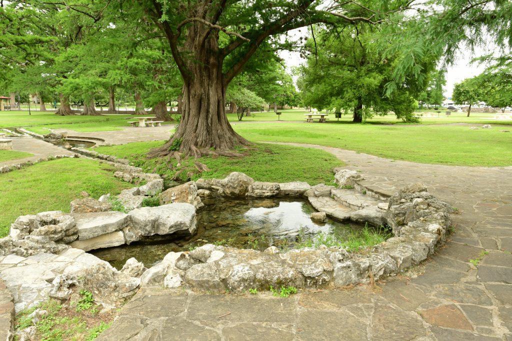 prehistoric spring in texas park