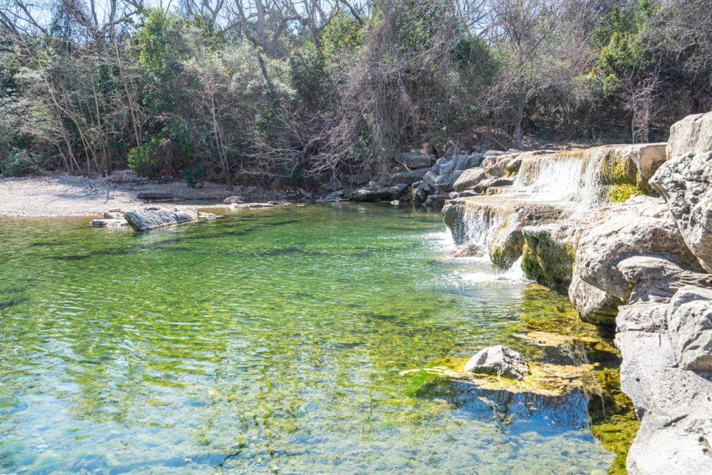 hill of life dam in barton creek greenbelt austin swim spot
