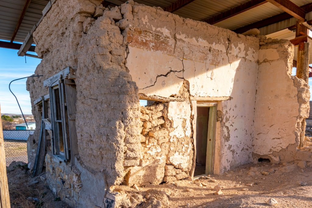 remains of the oldest house, one of the best places to visit in fort stockton tx