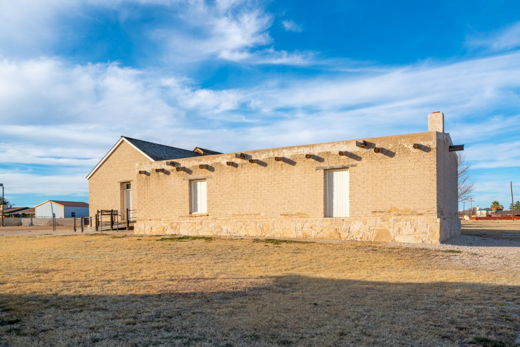 barracks at historic fort stockton, one of the best things to do in ft stockton tx