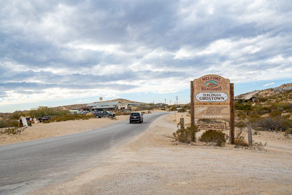 road leading to terlingua tx