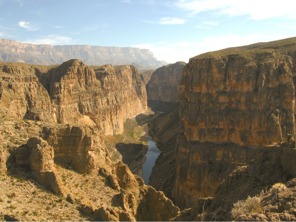 canyon hiking trail big bend np