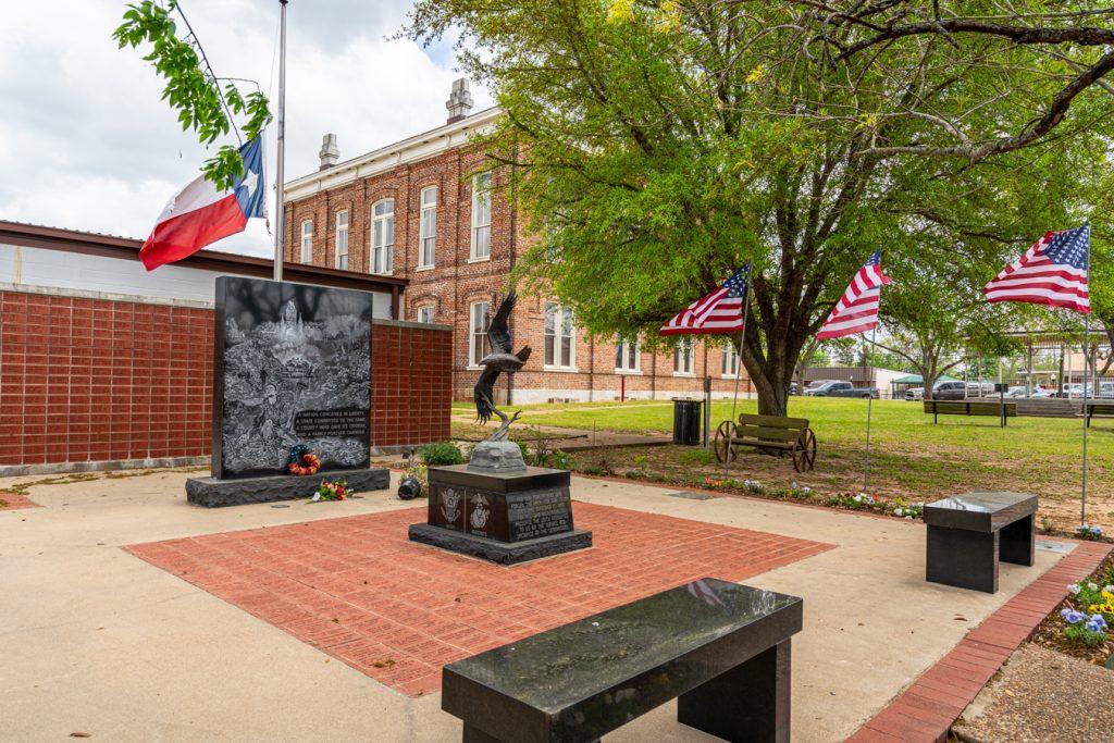 veterans memorial park in centerville tx