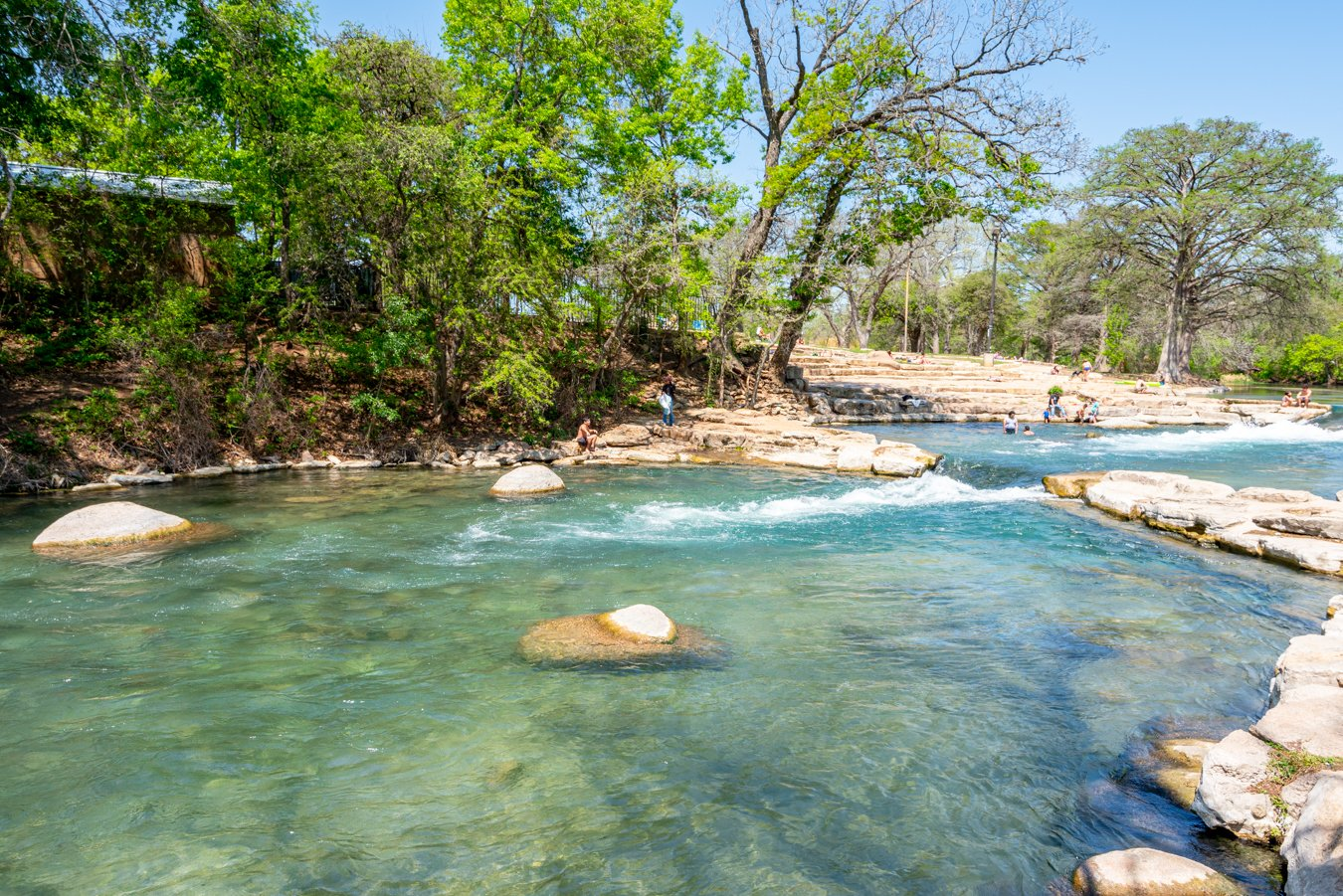 san marcos river in san marcos tx, one of the best day trips in texas