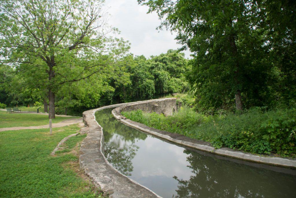 espada aqueduct in san antonio texas