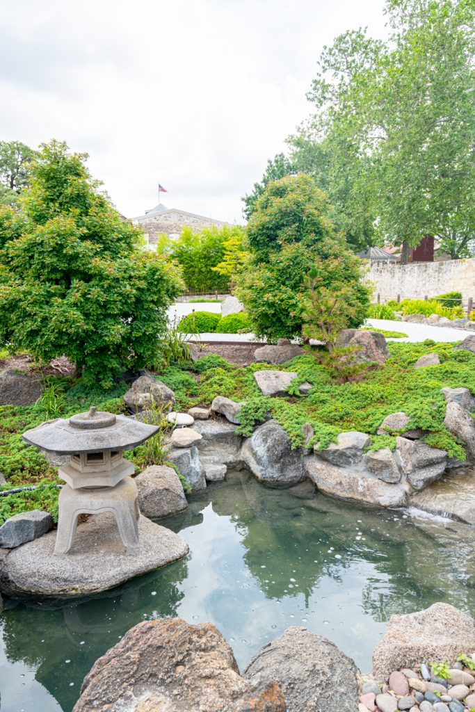 view of the japanese garden of peace, one of the best places to visit fredericksburg tx