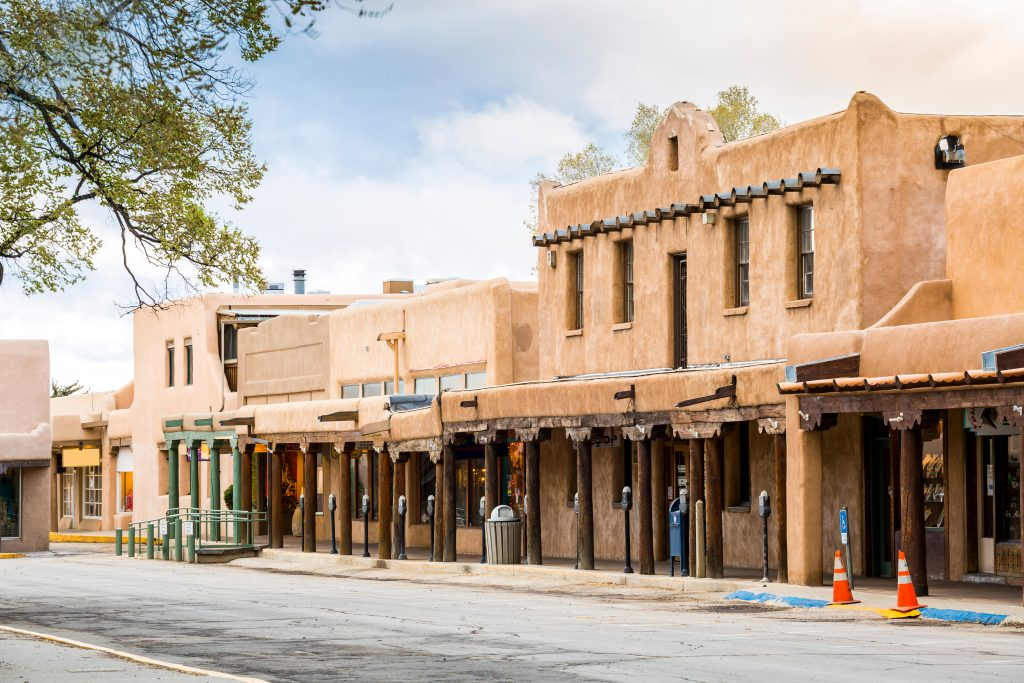 adobe villlage in taos new mexico, one of the best weekend trips amarillo tx