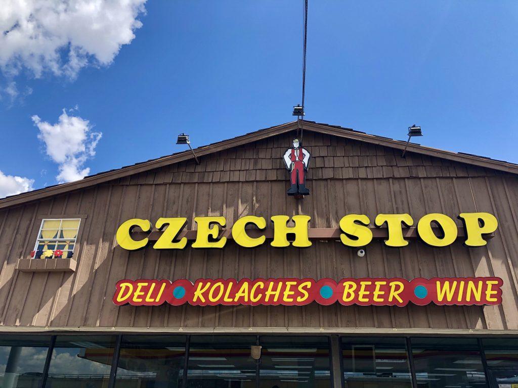 front facade of west czech stop tx